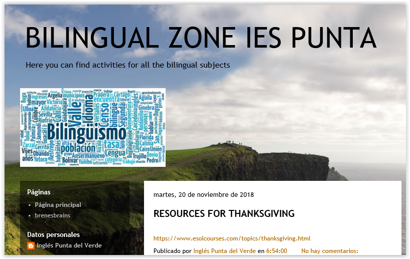 Blog Bilingual Zone